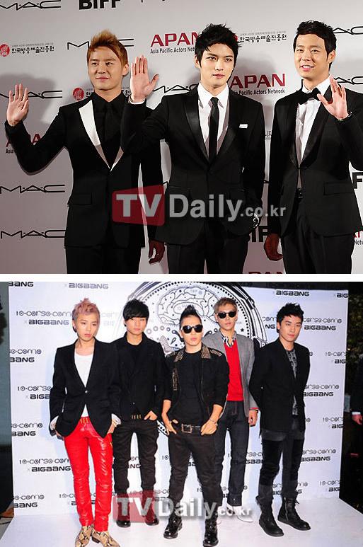 Big Bang và JYJ – 2 nhóm nhạc được mong muốn xuất hiện trên TV