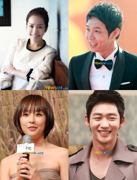 Yoo Chun (JYJ) lại 'cặp' với đàn chị