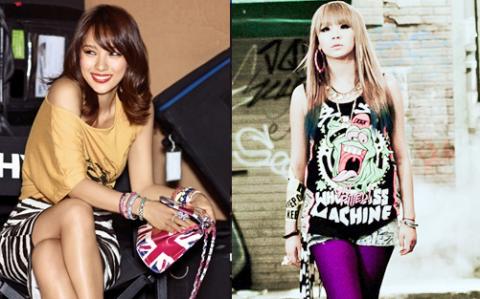 CL và Lee Hyori của hiện tại