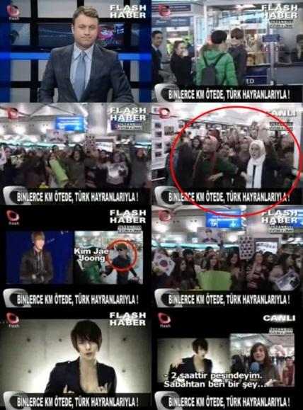 Fan Thổ Nhĩ Kỳ tạo nên 'hàng rào' vì sự an toàn của Kim Jaejoong(JYJ)