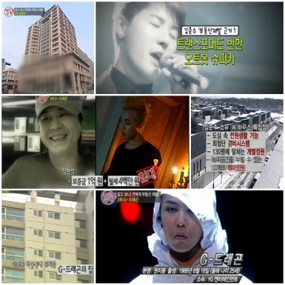 JYJ Junsu và Big Bang G-Dragon là hai trong số các nghệ sĩ đứng đầu về tài sản thực