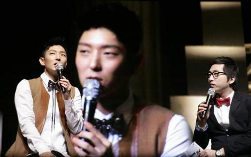 Lee Jun Ki trong buổi họp fan ngày 16/2.