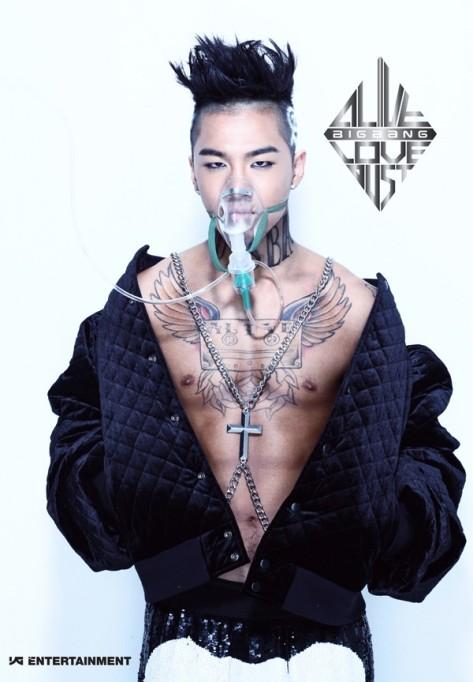 Taeyang (Big Bang) xăm trổ cực ngầu