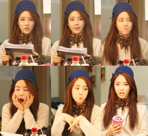 Thành viên Hyomin của T-ara's phấn khích khi tham gia công việc tình nguyện