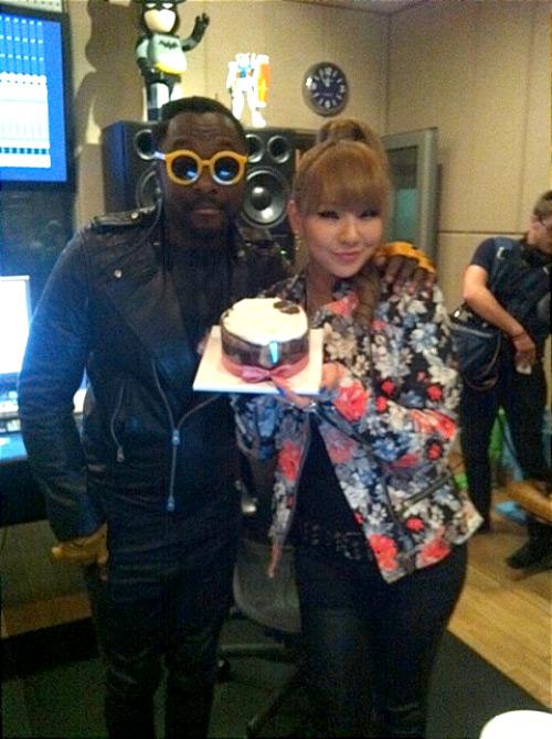 Will.i.am bất ngờ tặng quà sinh nhật cho CL