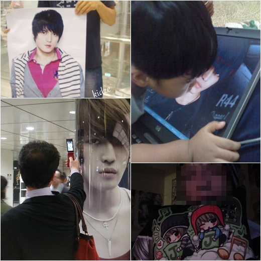 Fan nam của JYJ Kim Jaejoong gây chú ý