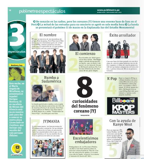 Publimetro: 8 sự thật thú vị về JYJ – một hiện tượng Hàn Quốc