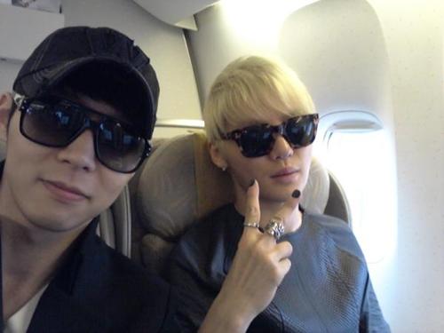 JYJ trên máy bay thẳng tiến đến Chile và Peru