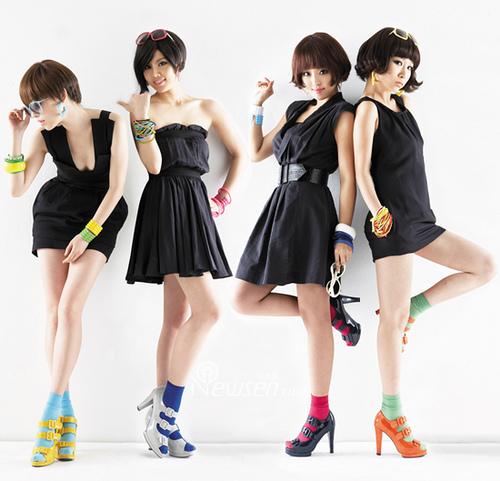 """Brown Eyed Girls - nhóm nhạc """"nấm lùn"""" của Kpop."""