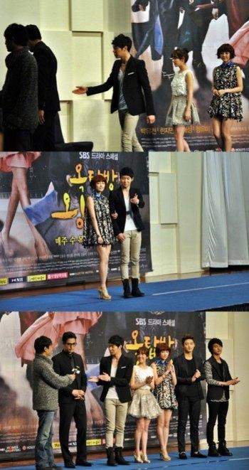 Bàn tay lịch thiệp của Park Yoochun