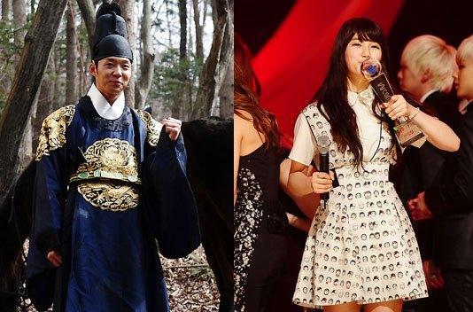 JYJ Yoochun & Miss A Suzy được bình chọn là cặp đôi ca sĩ thần tượng cho phiên bản Sun & Moon
