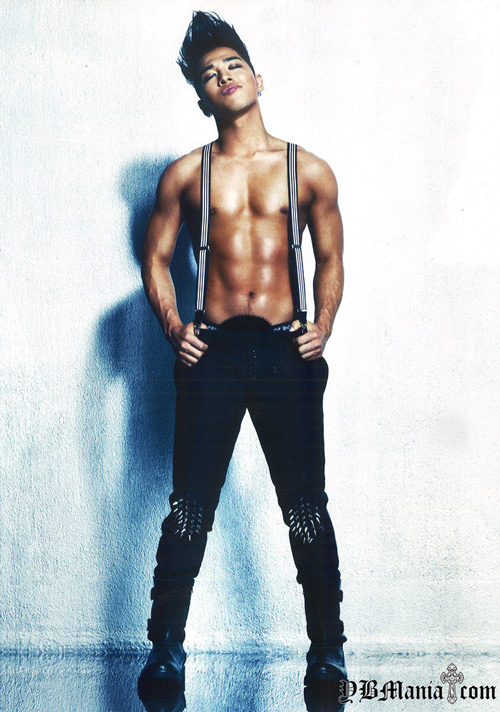 Tae Yang khoe thân hình 6 múi ấn tượng