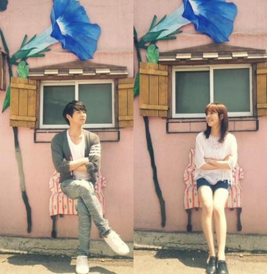 Park Yoochun và Han Ji Min trông giống như một cặp tình nhân thực sự